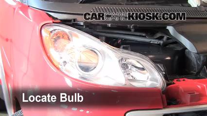2009 Smart Fortwo Passion Cabrio 1.0L 3 Cyl. Luces Luz de estacionamiento (reemplazar foco)