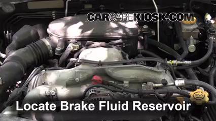 2009 Subaru Outback 2.5i Limited 2.5L 4 Cyl. Brake Fluid