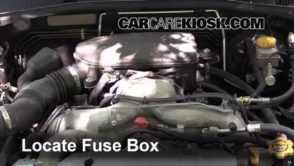 2009 Subaru Outback 2.5i Limited 2.5L 4 Cyl. Fuse (Engine)