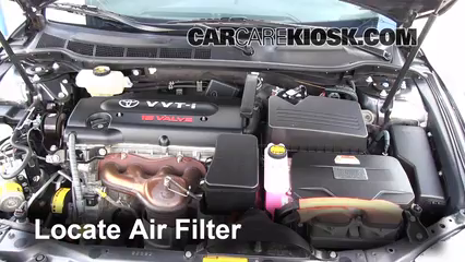 2009 Toyota Camry Hybrid 2.4L 4 Cyl. Air Filter (Engine)