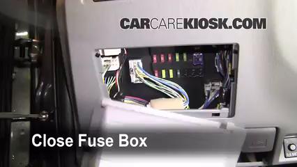 Interior Fuse Box Location: 2005-2015 Toyota Tacoma - 2009 Toyota Tacoma  Pre Runner 4.0L V6 Crew Cab Pickup (4 Door) | 2014 Toyota Tacoma Fuse Box |  | CarCareKiosk