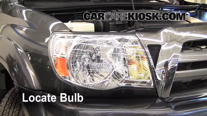 2009 Toyota Tacoma Pre Runner 4.0L V6 Crew Cab Pickup (4 Door) Luces Luz de marcha diurna (reemplazar foco)