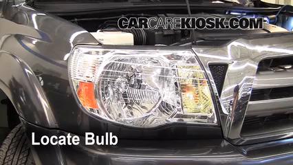 2009 Toyota Tacoma Pre Runner 4.0L V6 Crew Cab Pickup (4 Door) Luces Luz de estacionamiento (reemplazar foco)