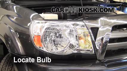 2009 Toyota Tacoma Pre Runner 4.0L V6 Crew Cab Pickup (4 Door) Luces Luz de giro delantera (reemplazar foco)