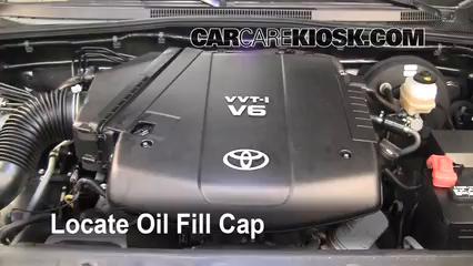 2009 Toyota Tacoma Pre Runner 4.0L V6 Crew Cab Pickup (4 Door) Oil