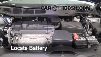 2009 Toyota Venza 2.7L 4 Cyl. Battery Clean Battery & Terminals