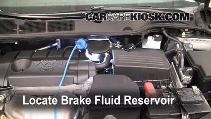 2009 Toyota Venza 2.7L 4 Cyl. Brake Fluid