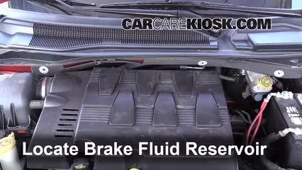 2009 Volkswagen Routan SEL 4.0L V6 Líquido de frenos Agregar fluido