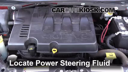 2009 Volkswagen Routan SEL 4.0L V6 Pérdidas de líquido Líquido de dirección asistida (arreglar pérdidas)