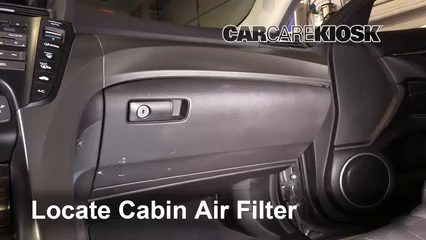 2010 Acura TL SH-AWD 3.7L V6 Air Filter (Cabin)