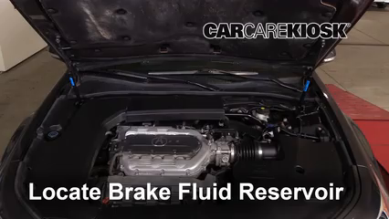 2010 Acura TL SH-AWD 3.7L V6 Brake Fluid