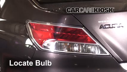 2010 Acura TL SH-AWD 3.7L V6 Lights