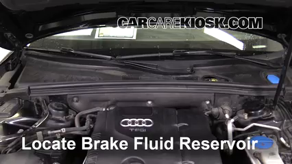 2010 Audi A5 Quattro 2.0L 4 Cyl. Turbo Brake Fluid
