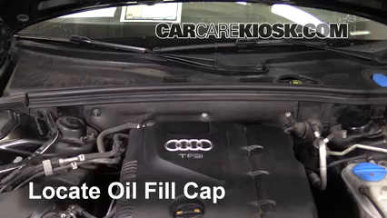 2010 Audi A5 Quattro 2.0L 4 Cyl. Turbo Oil