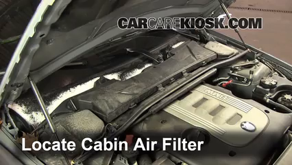 Ordinaire Cabin Filter Replacement: BMW 335d 2006 2013