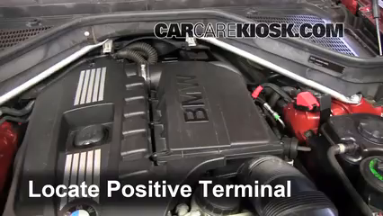 How To Jumpstart A 2008 2013 Bmw X6 2010 Bmw X6 Xdrive35i 3 0l 6