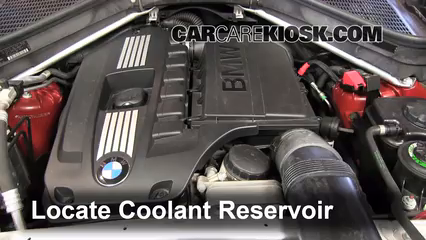 How To Add Coolant Bmw X6 2008 2013 2010 Bmw X6 Xdrive35i 3 0l