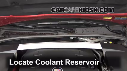 2010 Cadillac CTS 3.0L V6 Sedan Hoses Fix Leaks