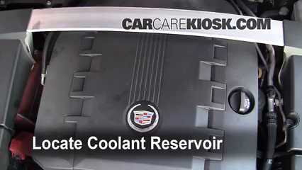 how to add coolant: cadillac cts (2008-2015) - 2010 cadillac cts premium  3.6l v6 wagon  carcarekiosk