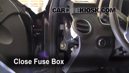 interior fuse box location 2010 2013 chevrolet camaro 2010 rh carcarekiosk com 2013 Camaro Headlight Scematics 2014 camaro fuse box location