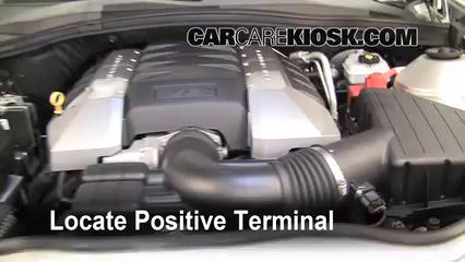 Chevrolet Camaro Ss L V Fbattery Locate Part on Battery Location 2010 Camaro Ss