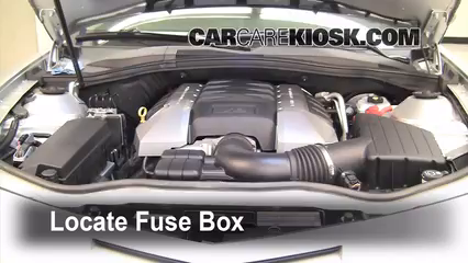 2010 Chevrolet Camaro SS 6.2L V8 Fuse (Engine) Check