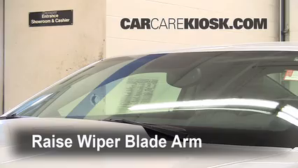2010 Chevrolet Camaro SS 6.2L V8 Windshield Wiper Blade (Front) Replace Wiper Blades