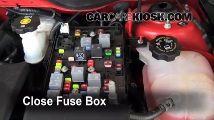 2010 Chevrolet Cobalt LT 2.2L 4 Cyl. Sedan %284 Door%29%2FFuse Engine Part 2 blown fuse check 2005 2010 chevrolet cobalt 2010 chevrolet cobalt fuse box diagram wrong at gsmx.co