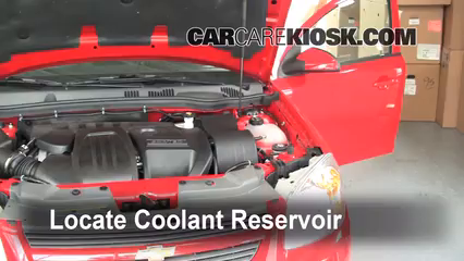 how to add coolant chevrolet cobalt (2005 2010) 2010 chevrolethow to add coolant chevrolet cobalt (2005 2010)