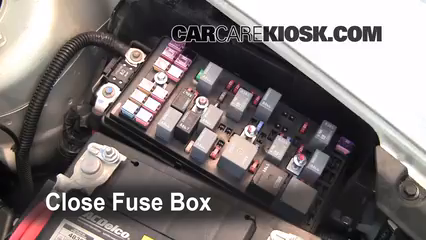 Replace a Fuse 2008 2012 Chevrolet Malibu 2010