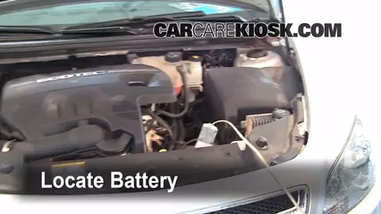 2010 Chevrolet Malibu LT 2.4L 4 Cyl. Battery Replace
