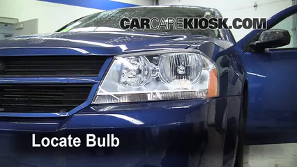 2010 Dodge Avenger SXT 2.4L 4 Cyl. Lights