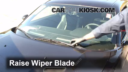 2010 Dodge Challenger RT 5.7L V8 Windshield Wiper Blade (Front) Replace Wiper Blades