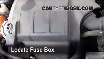 2010 Dodge Journey SXT 3.5L V6%2FFuse Engine Part 1 replace a fuse 2009 2016 dodge journey 2010 dodge journey sxt 2016 dodge journey fuse box location at gsmportal.co