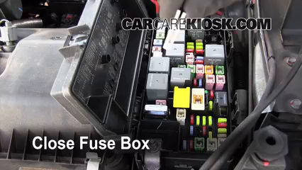 dodge journey fuse box blown fuse check 2009-2017 dodge journey - 2009 dodge ... dodge journey fuse box location