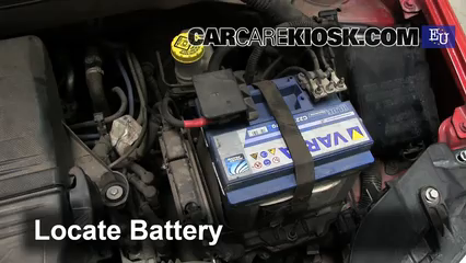 2010 Fiat Panda Active 1.2L 4 Cyl. Battery Replace