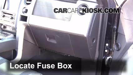 interior fuse box location 2009 2014 ford f 150 2010 ford f 150 rh carcarekiosk com ford f150 fuse box location 2005 2009 f150 fuse box diagram