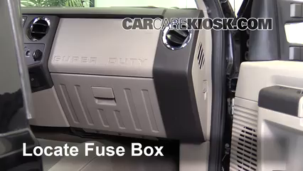 [WLLP_2054]   Interior Fuse Box Location: 2008-2016 Ford F-250 Super Duty - 2010 Ford  F-250 Super Duty XLT 6.4L V8 Turbo Diesel Standard Cab Pickup | 2008 Ford F 250 Fuse Box |  | CarCareKiosk