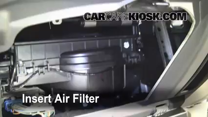 Cabin Filter Replacement: Ford Fusion 2010-2012 - 2010 ...