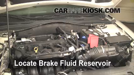 2010 Ford Fusion SE 2.5L 4 Cyl. Brake Fluid Add Fluid