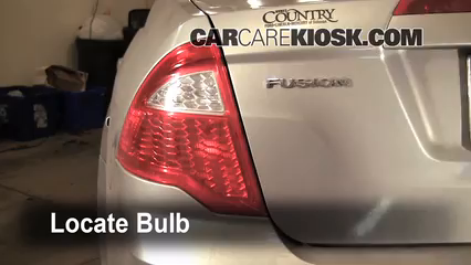 Tail Light Change 2010-2012 Ford Fusion - 2010 Ford Fusion ...