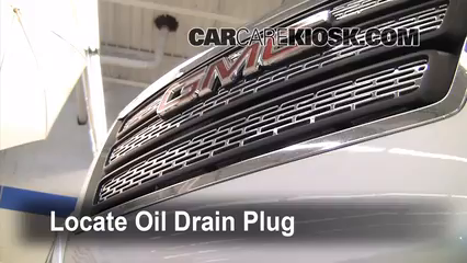 2010 GMC Terrain SLT 3.0L V6 Oil Change Oil and Oil Filter