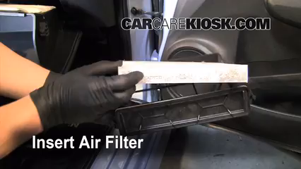 Perfect Insert The Filter And Put Everything Back In Place