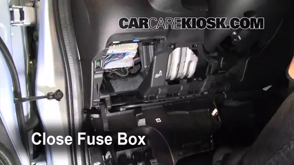 interior fuse box location: 2009-2013 honda fit - 2010 honda fit sport 1 5l  4 cyl