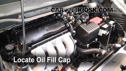 How To Add Oil Honda Fit 2009 2013 2010 Honda Fit
