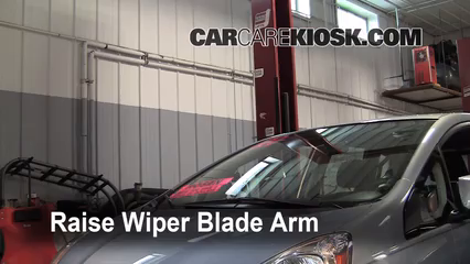 2010 Honda Fit Sport 1.5L 4 Cyl. Windshield Wiper Blade (Front)