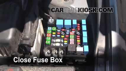 2010 Hyundai Elantra GLS 2.0L 4 Cyl.%2FFuse Engine Part 2 replace a fuse 2007 2012 hyundai elantra 2010 hyundai elantra 2014 hyundai accent fuse box diagram at crackthecode.co