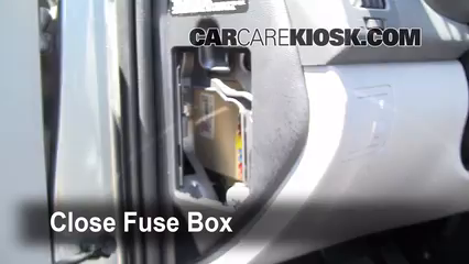 Interior Fuse Box Location 2007 2012 Hyundai Elantra