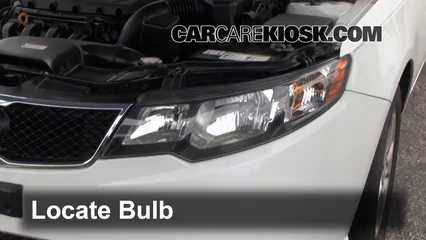 Headlight Change 2010 2013 Kia Forte 2010 Kia Forte Ex 2 0l 4
