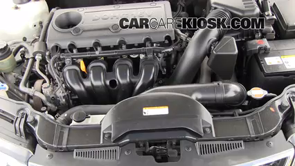 2010 Kia Forte EX 2.0L 4 Cyl. Sedan (4 Door) Brake Fluid Check Fluid Level